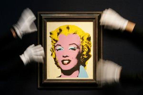 Warholova Marilyn môže byť vaša - ak máte približne 95 miliónov amerických dolárov.