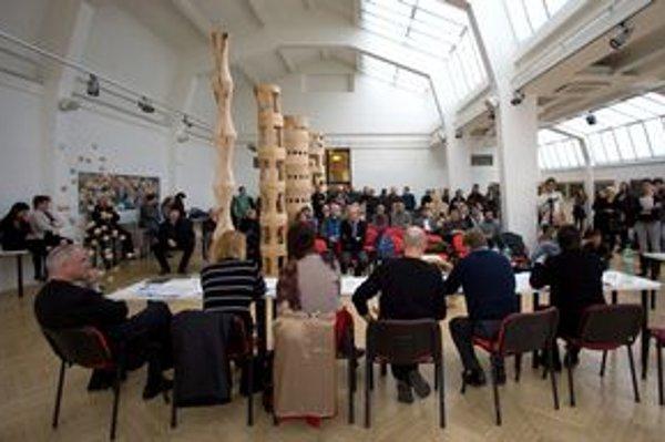 Výtvarníci  by chceli Kunsthalle, na Danubianu nemajú rovnaký názor.