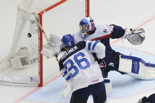 Ján Laco podal aj proti Fínsku výborný výkon.