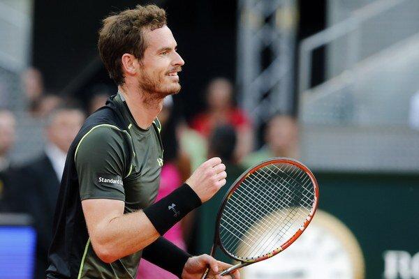 Murray práve vyhral zápas nad Nadalom a tým aj celý turnaj v Madride.