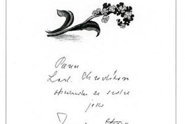 Raritné venovanie v knihe Maminka, kde sa Seifert pomýlil a takmer sa podpísal ako Chudík. Okrem faksimílií sú v knihe aj ilustrácie Oldřicha Kulhánka a Vladimíra Gažoviča.