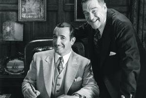 Herec a producent v šťastných časoch nemého filmu. Hollywoodsku hviezdu vo filme Michela Hazanaviciusa The Artist hrá Jean Dujardin (vľavo). Dostal za to cenu pre najlepšieho herca na festivale v Cannes.