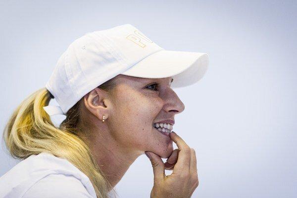 Dominika Cibulková na tlačovej konferencii v NTC oznámila, že už ďalej nemôže operáciu odkladať.