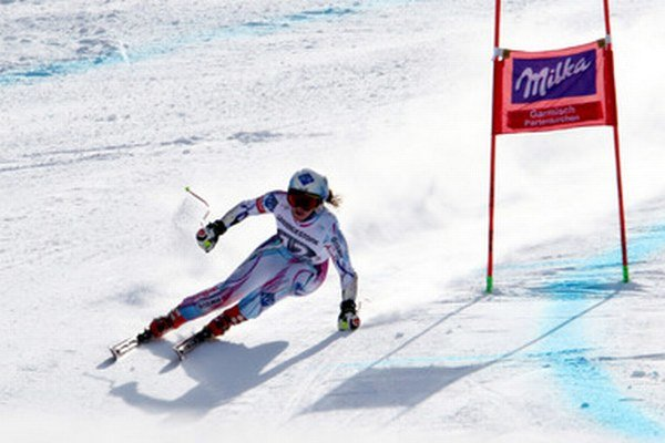 Reprezentantka Lichtenštajnska v nemeckom stredisku Garmisch-Partenkirchen triumfovala.