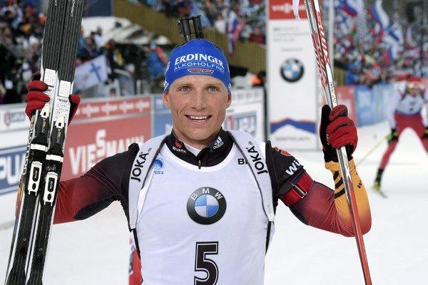 Víťazný Erik Lesser.