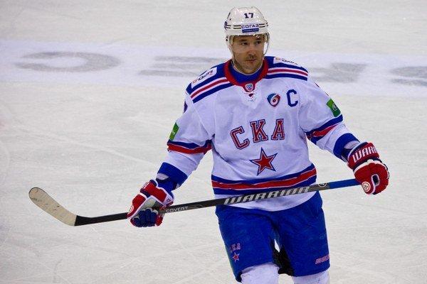 Od roku 2013 hráva Iľja Kovalčuk KHL za SKA Petrohrad.