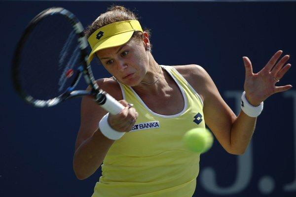 Slovenská tenistka sa na zelenej antuke v Charlestone predstaví aj v ďalšom kole.
