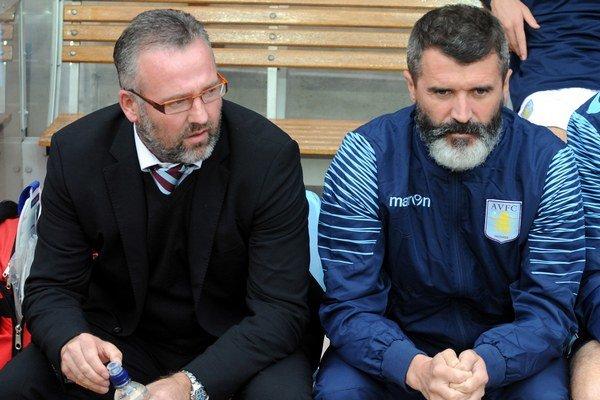 Roy Keane (vpravo) mal vždy povesť drsného chlapíka.
