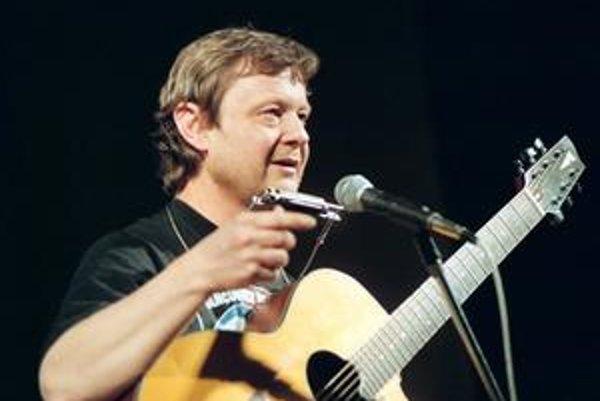 Archívny záber Vladimíra Mertu.