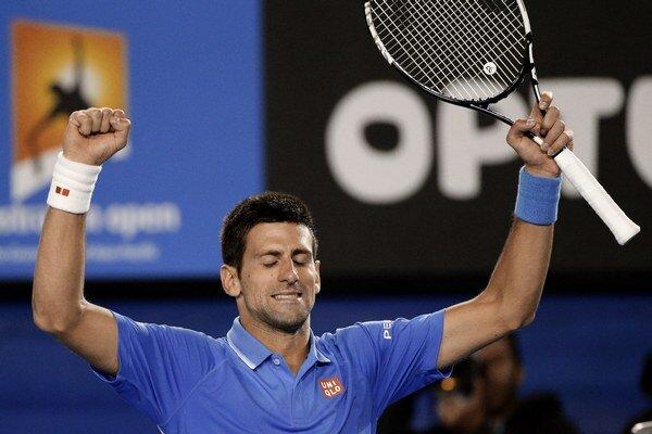 Novak Djokovič bude hrať piatykrát vo finále Australian Open.
