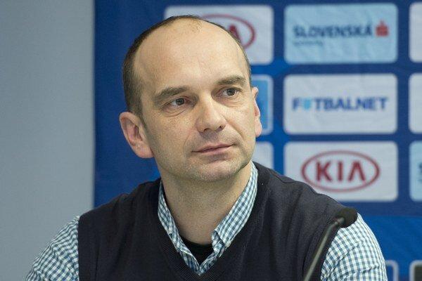 Na snímke asistent nového trénera futbalovej rerpezentácie do 21 rokov Pavla Hapala Oto Brunegraf.