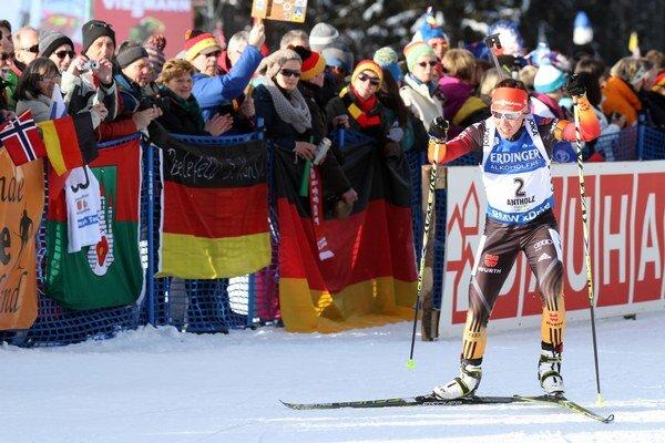 Nemka Laura Dahlmeierová vyhral prvýkrát v kariére preteky Svetového pohára.