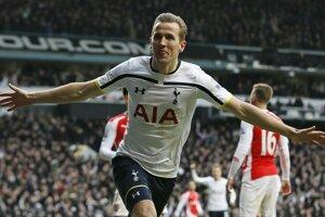 Hrdinom zápasu medzi Tottenhamom a Arsenalom bol domáci Harry Kane.