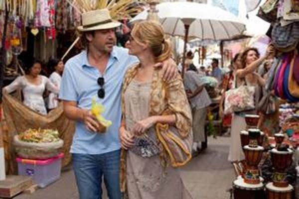 Javier Bardem a Julia Roberts.