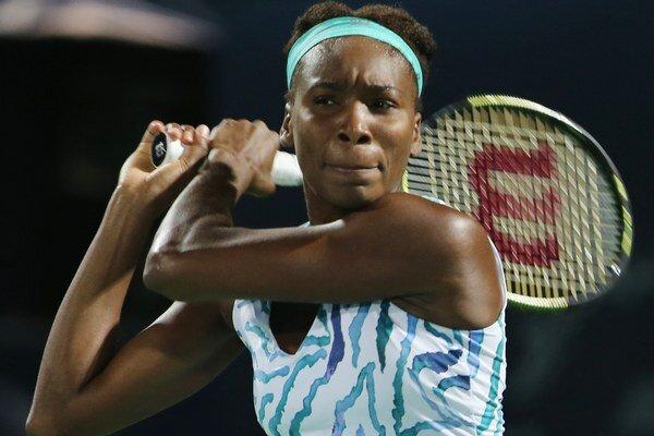 Venus Williamsová momentálne hrá na turnaji v Dubaji, kde ťahá sériu šestnástich víťazstiev za sebou.