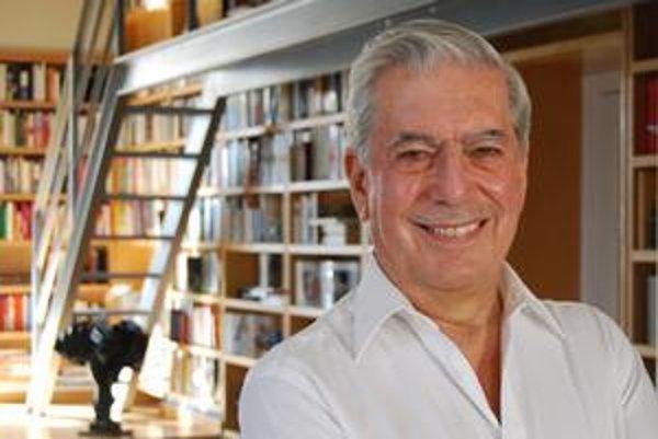 Mario Vargas Lllosa prerušil dlhú sériu, keď Nobelovu cenu za literatúru dostávali iba európski autori.