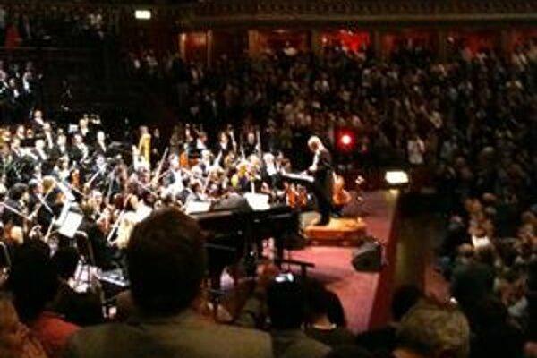 Ennio Morricone v londýnskej Royal Albert Hall.