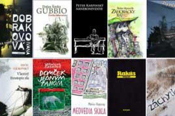 Do 16. septembra 2010 môžete hlasovať za najlepšiu knihu slovenského autora za uplynulý rok.
