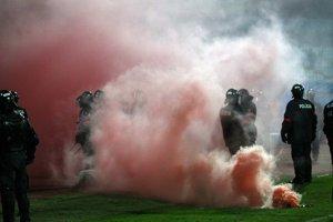Zo štvrtkového zápasu na Pasienkoch.