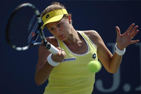 Jana Čepelová počas tohtoročných US Open.