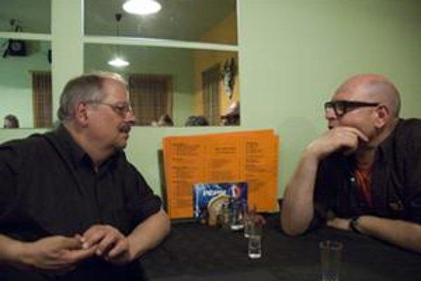 Alfred Zimmerlin (vľavo) a Markus Eichenberger sa zúčastnia dvoch projektov na Slovensku.