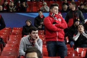 Fanúšikovia Manchestru United. Ilustračná snímka.