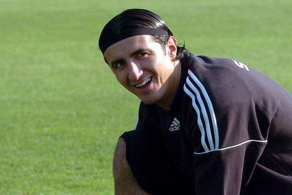 Kamil Čontofalský počas tréningu slovenskej reprezentácie v roku 2007.