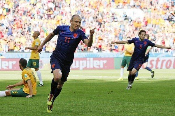 Najmodernejší futbal v Brazílii hrajú Holanďania.