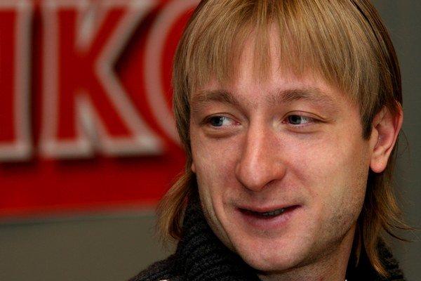 Ruský krasokorčuliar Jevgenij Pľuščenko.
