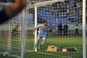 V prvom zápase  2. predkola Ligy majstrov na Pasienkoch dal Slovan jediný gól.