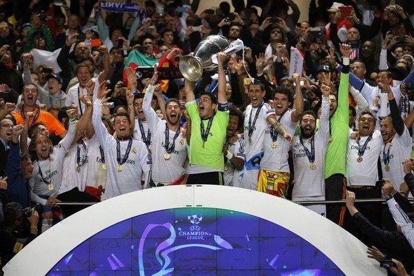Z výhry v Lige majstrov sa tešili futbalisti Realu Madrid.