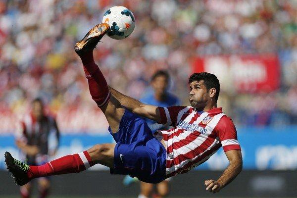 Diego Costa odohral za Španielsko iba jediný zápas v marci.