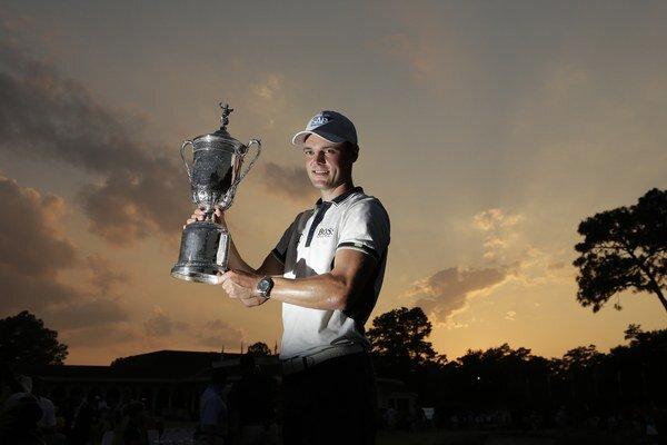 Víťaz US Open v golfe Martin Kaymer.