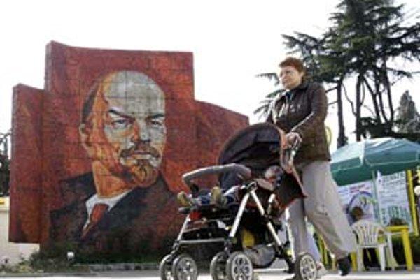 """Lenin večne živý je objektom """"ostalgie""""."""