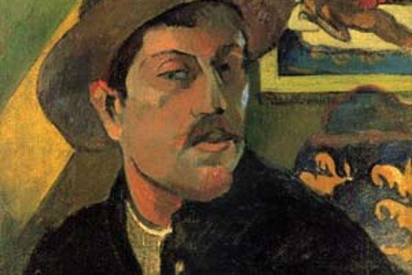 Autoportrét Paula Gauguina z roku 1893.