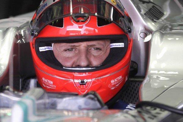 Michael Schumacher naposledy jazdil za Mercedes.