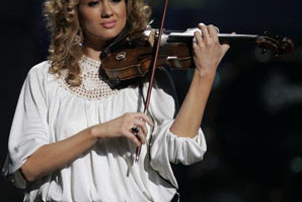Hip-hipová huslistka  Miri Ben-Ari.