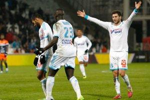 Futbalisti Marseille - ilustračná fotografia.