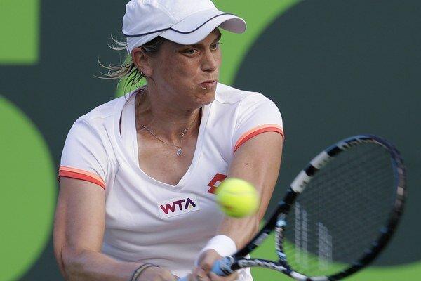 Romina Oprandi, premožiteľka Daniely Hantuchovej v semifinále.
