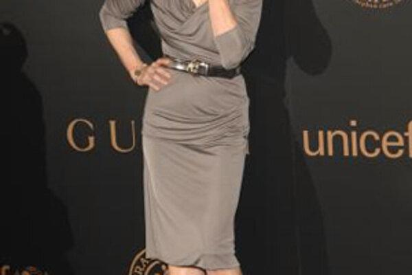 Popovú speváčku Madonnu v pondelok uviedli do Rock'n'rollovej siene slávy.