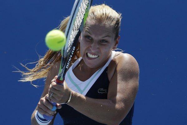 Dominika Cibulková je momentálne na 13. mieste v rebríčku WTA.