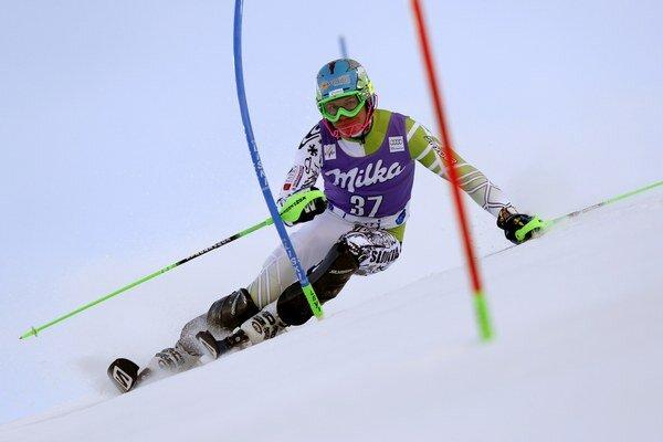 Adam Žampa v Slovinsku počas prvého kola na skvelú olympiádu nenadviazal.
