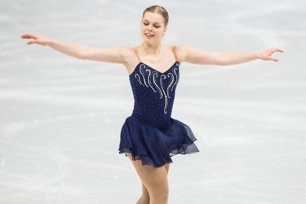 Nicole Rajičová bola na olympiáde v Soči najmladšou členkou slovenskej výpravy.