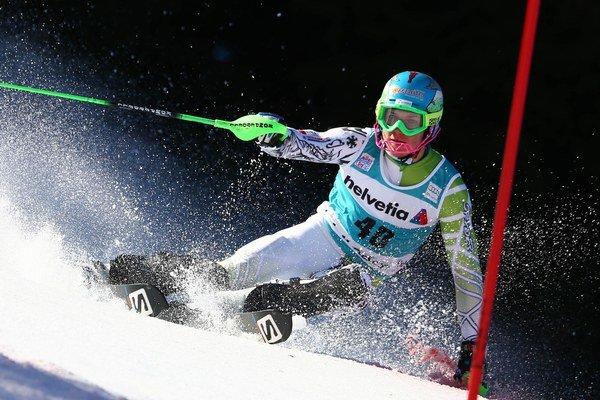 Slovák Adam Žampa skončil v Adelbodene na 22. mieste.