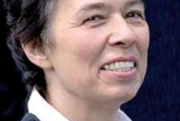 Starostka Kremnice Zuzana Balážová