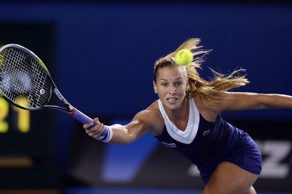 Dominika Cibulková vo finále bojovala, na Číňanku Na Li nestačila.