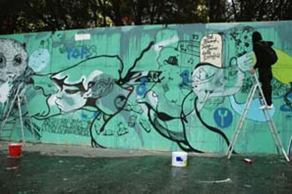 Big Geezers priniesli do Bratislavy pouličné umenie.