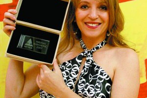 Divadelná a filmová srbská herečka Mirjana Karanović na Artfilme. Mimo iných snímok hrala