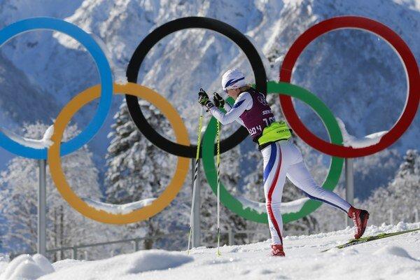 Slovenská bežkyňa na lyžiach Daniela Kotschová.
