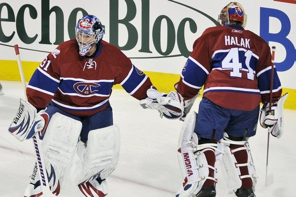Jaroslav Halák bol ešte v Montreale rivalom s Careym Priceom.